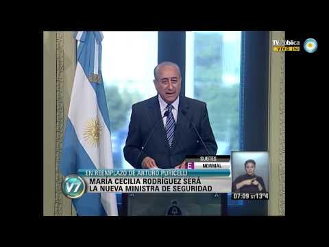 Visión 7: María Cecilia Rodríguez , nueva Ministra de Seguridad.