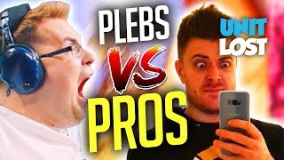 Overwatch - Plebs Vs. Pros! Just How Much Better Are Pro Gamers?!