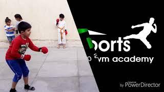 Karate fight little player's Shivansh Bhargav with Parth ojha
