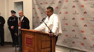 Urban Meyer press conference after Ohio State's win over Illinois