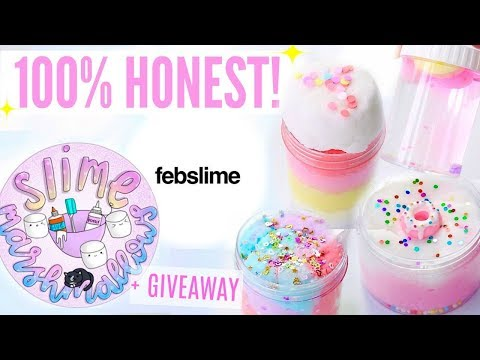 100% HONEST Famous + Underrated Instagram Slime Shop Review! Non-Famous US/UK Slime Package Unboxing