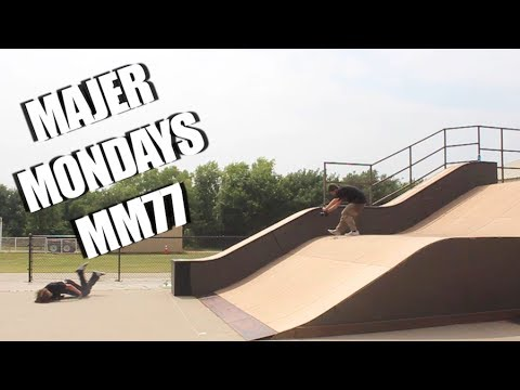 MAJER VS THE MEGA SKATEPARK MM77