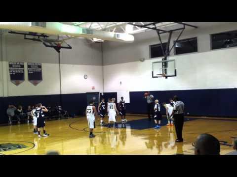 IHM boys 7th grade vs Wayne Pal Thanksgiving Shootout Part 1