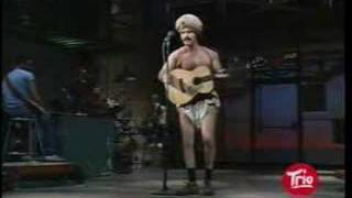 Andy Kaufman on Letterman Part 1