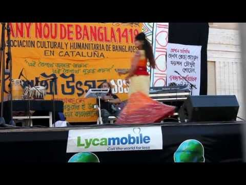 Pohela Boishakh 2012 Dhol Baje - Chandrima video