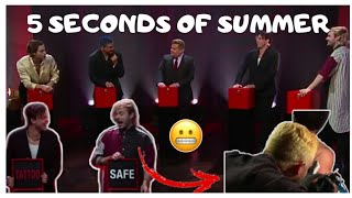 5 Seconds Of Summer juega Tatto Roulette Parte 1/3 [Subtitulado al español]