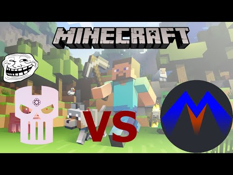Minecraft funny moments. Troll my friend and showing him around