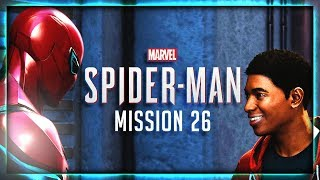 "Miles Morales Meets Spider-Man! | SPIDER-MAN Walkthrough (PS4) Part 26: ""First Day"" (HD 60fps)"