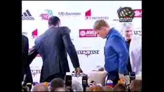 Пресс конференция Владимира Кличко и Александра Поветкина перед поединком