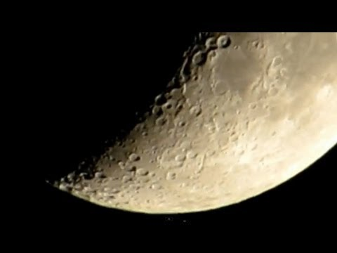 Canon PowerShot SX50 HS Zoom Test Moon HD