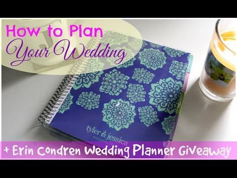 Erin Condren Wedding Planner 2015   Review & Close-ups