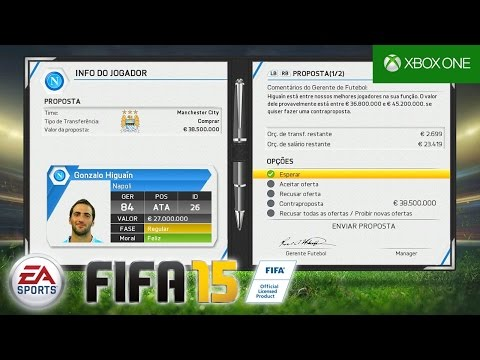 FIFA 15 - Modo Carreira: Higuaín No City??? #04 [Xbox One]