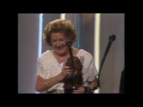 Imperio Argentina recoge el Goya de Honor 1989