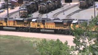 Tour of Union Pacific's Bailey Yard North Platte, NE 2013