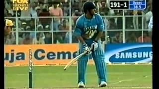Sachin Tendulkar 66th century 100 vs Australia Gwalior 2003.flv