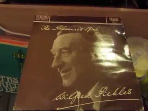 Wilfred Pickles - Rare Vinyl LP - THE PLEASURE'S MINE - Poetry Recital