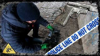 Magnet Fishing Finds - Gun FOUND in Preston Canal ( police involved )
