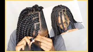 Shortish Box Braid Tutorial!