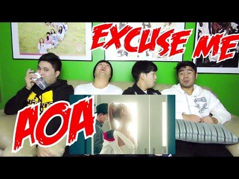 AOA - EXCUSE ME MV REACTION (FUNNY FANBOYS)