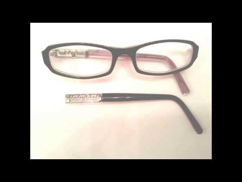 Learn how i fixed my glasses using a piece of plastic from a price tag!