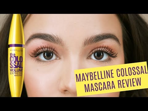 Maybelline Colossal Mascara Review + Demo!