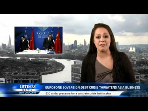 Eurozone sovereign debt crisis threatens Asia business