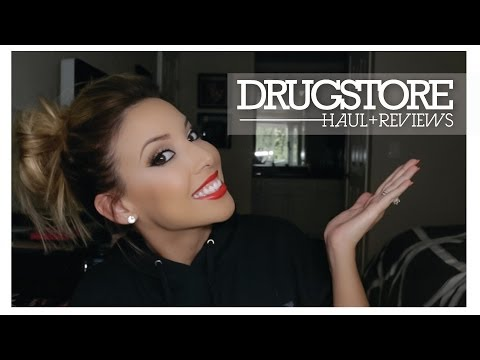 Drugstore Haul+Reviews!