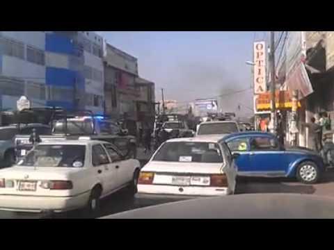 Queman taxi en avenida cuautemoc-valle de chalco