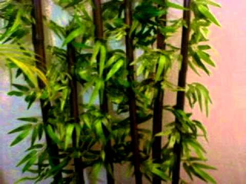 Bamb artificial youtube - Decoracion plantas artificiales ...