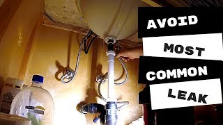 Plumbing Apprentice Avoid The Most Common Leak