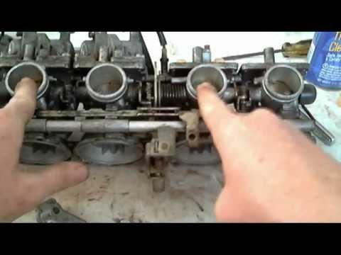 Yamaha Moto  Carb Rebuild