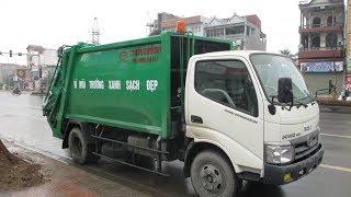 Xe ép rac 4 khối, bán xe ép rác chở rác 4 khối dongfeng 091 16 18 222