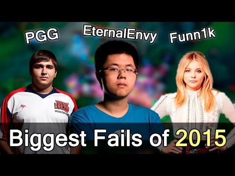 Biggest Fails of 2015 — Dota 2