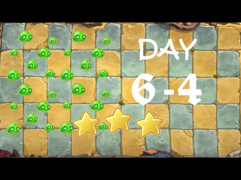 [PC] Plants vs. Zombies Online - Ancient Egypt Day 6-4 (Mold Colonies)