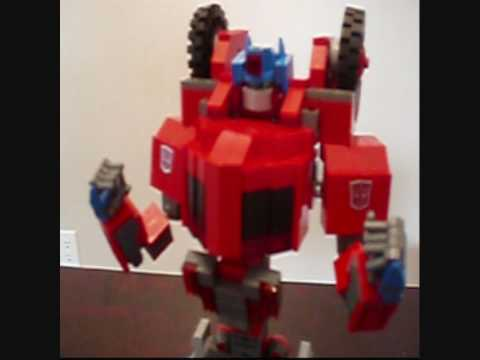 OPTIMUS PRIME LEGO WAR FOR CYBERTRON. A Lego Transformers Creation