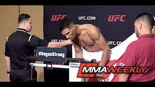 Kevin Lee Misses Weight at UFC 216 Official Weigh In