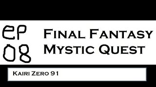 Let's Play FF Mystic Quest ep08 - Falls Basin