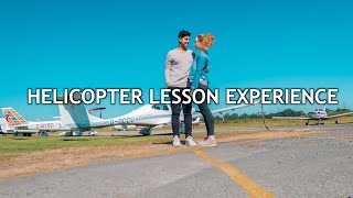 AMAZING EXPERIENCE: FIRST HELICOPTER LESSON by Waleed Deeba
