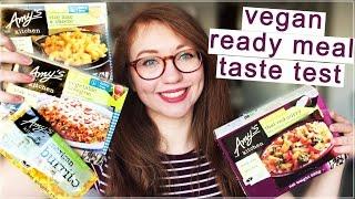 Amy's Kitchen Vegan Ready Meals - Taste Test & Review (Gluten Free)