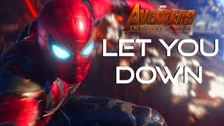 Download Lagu AVENGERS: INFINITY WAR TRIBUTE (NF- LET YOU DOWN) Gratis STAFABAND