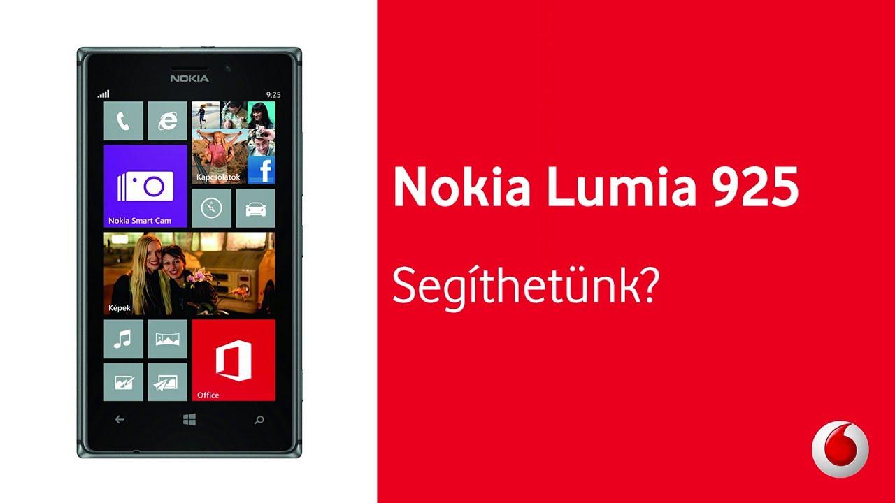 Nokia Lumia 1625 Nokia Lumia 925 a Vodafone t l