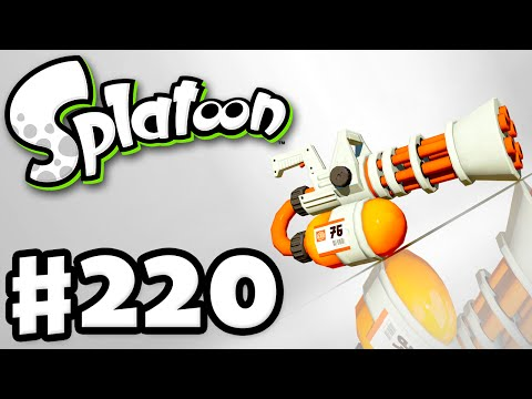 Splatoon - Gameplay Walkthrough Part 220 - Refurbished Mini Splatling! (Nintendo Wii U)