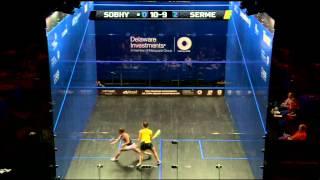Squash : Quick Hit! Ep.85 : Sabrinha Sobhy v Camille Serme