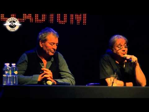 TV Rock Live - Deep Purple - Ian Gillan & Ian Paice - Press Conference - Paris 2013 [HD]