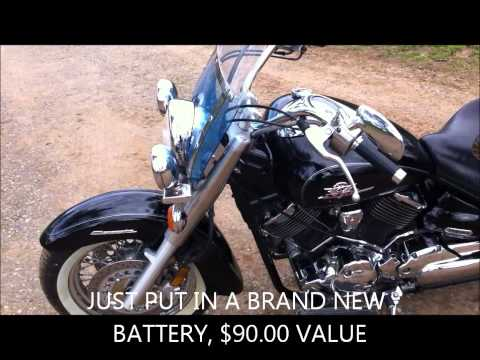 2000 Yamaha V star 1100 classic for sale