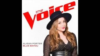Alisan Porter - Blue Bayou (Audio) (Studio Version) The Voice U.S. Winner 2016