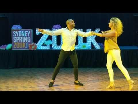 SSZF2018: Fernanda & Carlos in performance ~ Zouk Soul