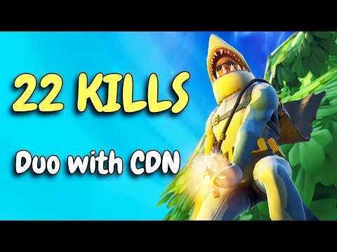 22 KILLS | Clutch & Funny plays with CDNThe3rd