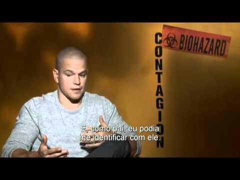Contágio - Entrevista com Matt Damon