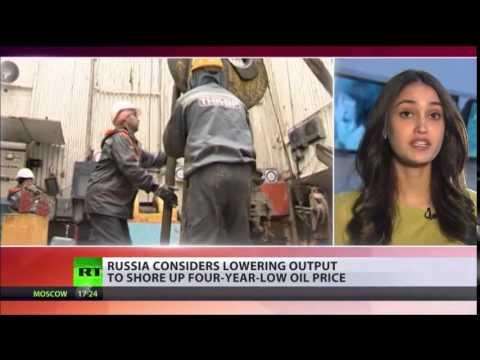 RUSSIA and Saudi Arabia AGAINST 'politicized' Oil prices   LAVROV